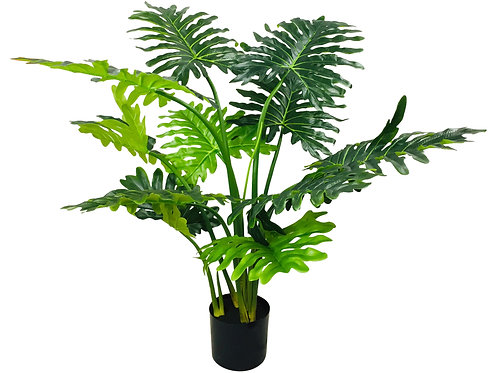 Artificial Philodendron Tree, Short Stems 120cm Shipping furniture UK