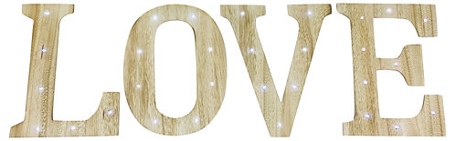 Love Letters with LED Lights Shipping furniture UK