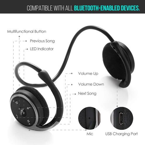 Product Review on: LinkWitz Marathon2 Sports Bluetooth Headphones.