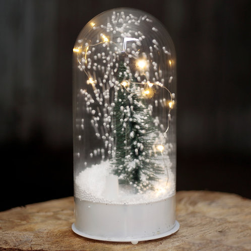 Musical LED Christmas Snowstorm - Domed Novelty Gift