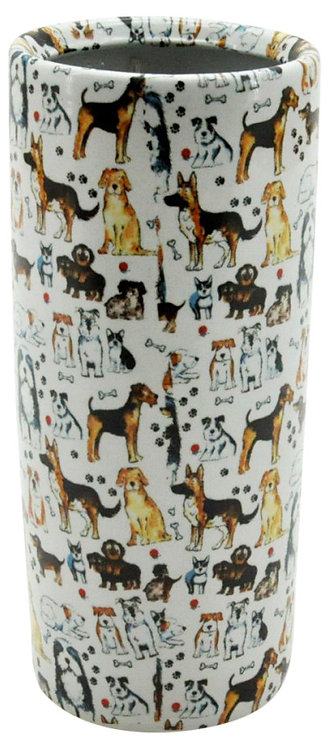 "Round Dogs Umbrella Stand 18"" Shipping furniture UK"