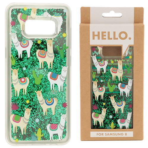 Samsung 8 Phone Case - Llama Design Novelty Gift