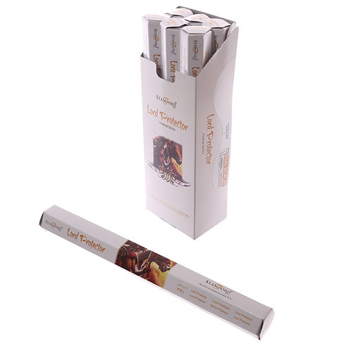 Lord Protector Stamford Hex Incense Sticks Novelty Gift