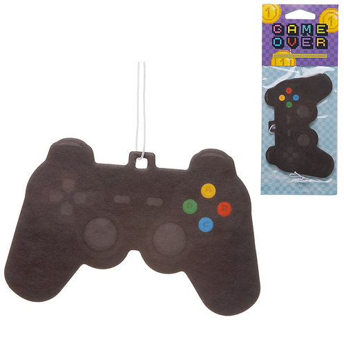 Retro Gaming Popcorn Scented Game Over Air Freshener Novelty Gift
