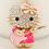 Various Bag Fashion Rhinestone Metal Keychains Boxing Gloves Violin Cat & Owl