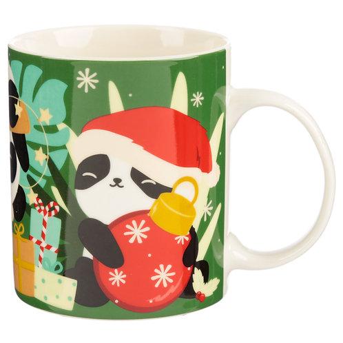 Christmas Porcelain Mug - Pandarama Novelty Gift