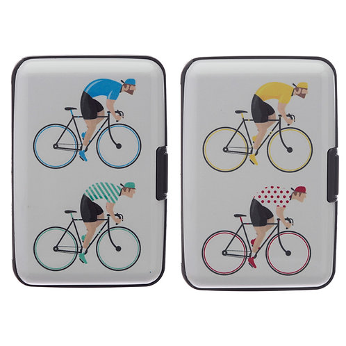 Contactless Protection Card Holder Wallet - Cycle Works Cycling Novelty Gift