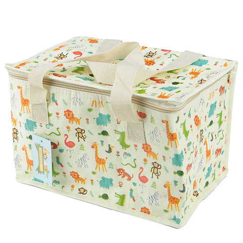 Zoo Design Lunch Box Picnic Cool Bag Novelty Gift