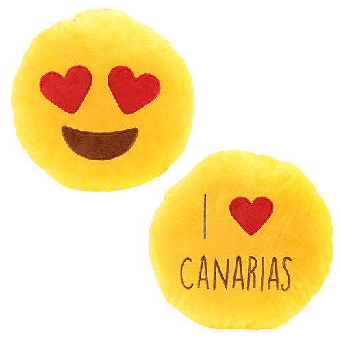 I Heart Canarias Emotive Cushion Novelty Gift
