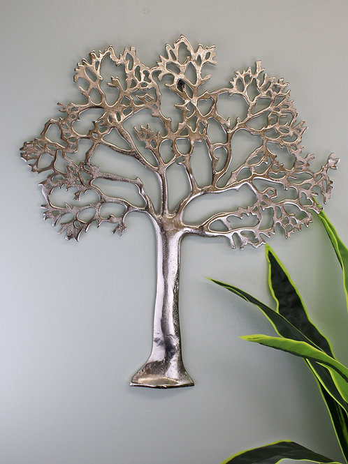 Large Metal Tree Of Life Wall Plaque Shipping furniture UK