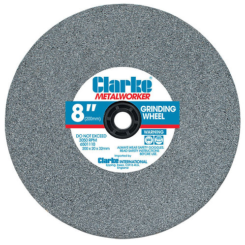 "Clarke 8"" (150mm) Medium Grinding Wheel 