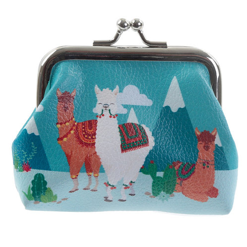 Cute Alpaca Tic Tac Change Purse Novelty Gift