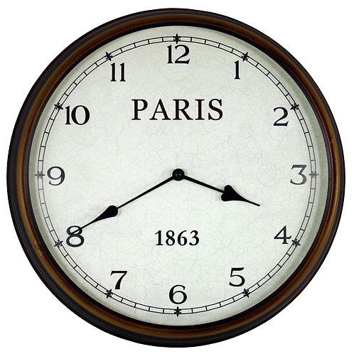 Antiqued Clock Shipping furniture UK