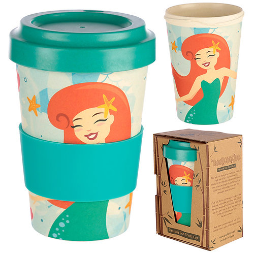 Novelty Mermaid Design Travel Cup/Mug Gift