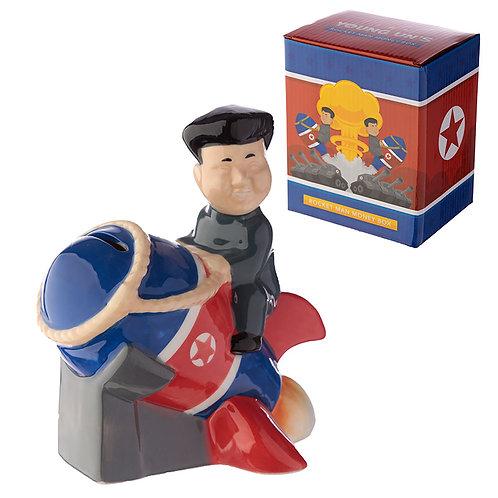 Novelty President Rocket Man Money Box Gift