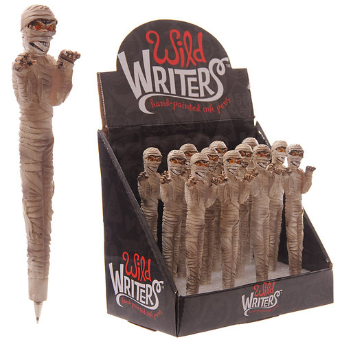 Funky Mummy Design Novelty Pen Novelty Gift [Pack of 2]