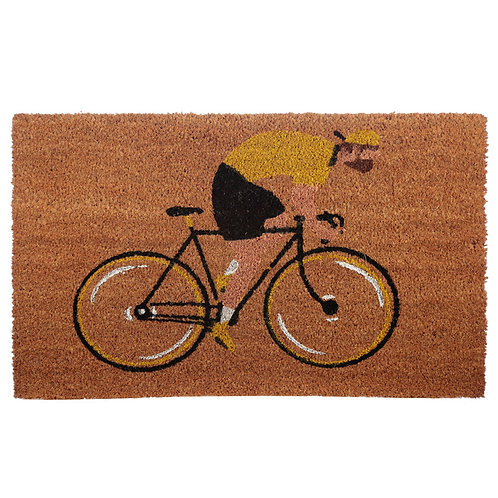 Coir Door Mat - Cycle Works Bicycle Novelty Gift