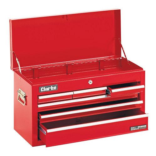 Clarke CTC600B Mechanics 6 Drawer Steel Tool Chest | DIY Bargains