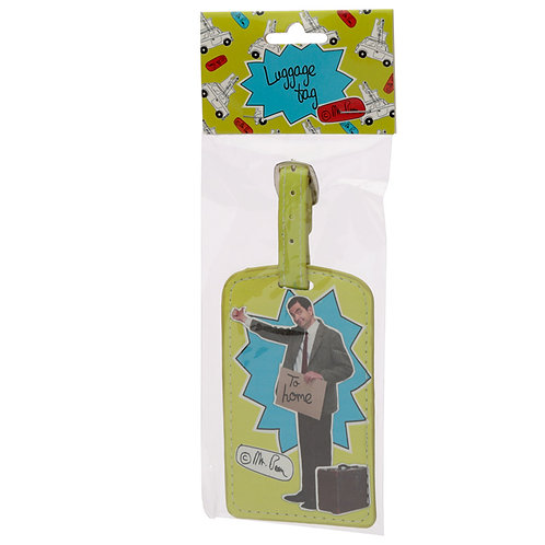 Fun Novelty Mr Bean Hitch Hiking Luggage Tag Novelty Gift