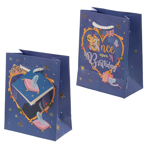 Happy Birthday Princess Design Small Gift Bag Novelty Gift