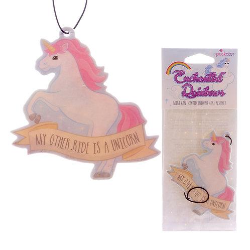 Fun Air Freshener - Fairy Cake Fragranced Unicorn Novelty Gift