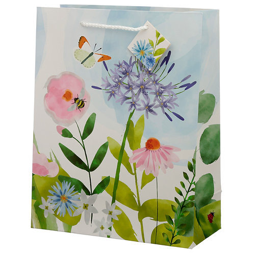 Botanical Gardens Design Large Gift Bag Novelty Gift