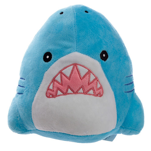 Fun Shark Cafe Plush Door Stop Novelty Gift