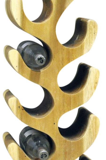 10 Bottle Wood Wine Rack Shipping furniture UK
