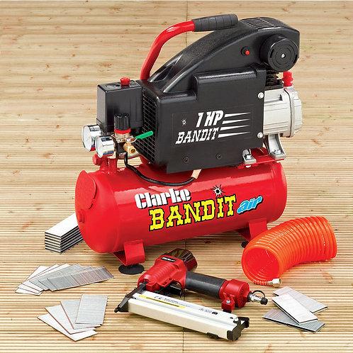 Clarke Bandit 4 - 8 Litre Air Compressor Nailing/Stapling Kit | DIY Bargains