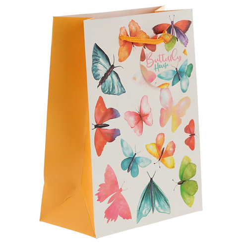 Butterfly House Medium Gift Bag Novelty Gift