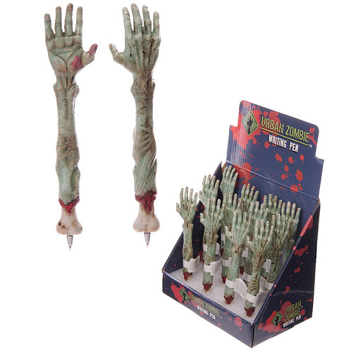 Novelty Gift Fun Zombie Hand Pen  [Pack of 2]
