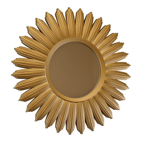 Large Gold Sunburst Mirror Shipping furniture UK