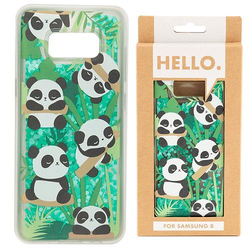 Samsung 8 Phone Case - Panda Design Novelty Gift