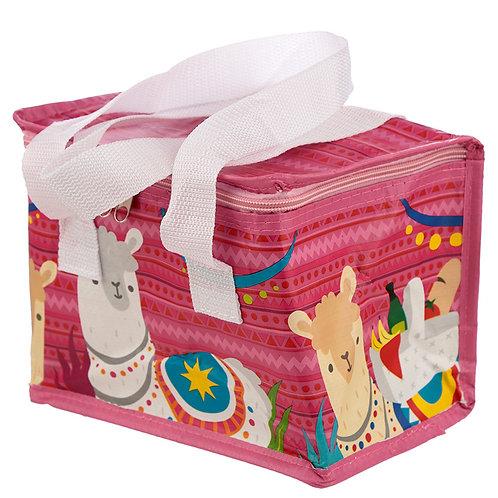 Llama Design Lunch Box Cool Bag Novelty Gift