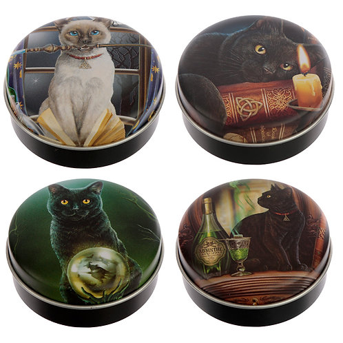 Fun Lip Balm in a Tin - Lisa Parker Magical Cats Novelty Gift