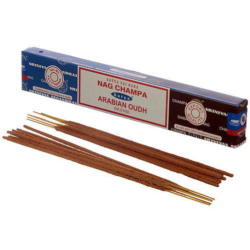 Satya Incense Sticks - Nag Champa & Arabian Oudh Novelty Gift