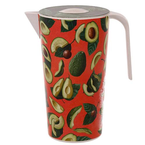 Bamboo Composite Avocado 1.7L Water Jug Novelty Gift