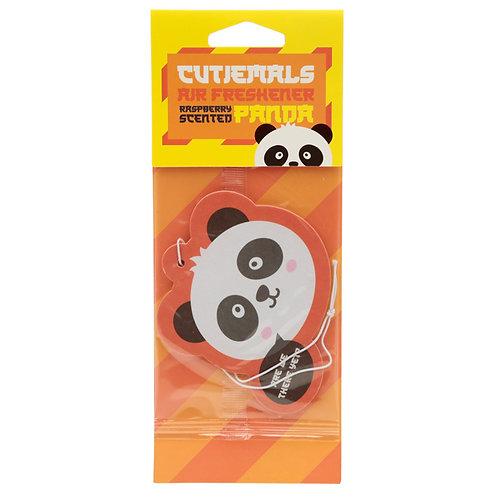 Cutiemals Panda Raspberry Scented Air freshener [Pack of 2] Novelty Gift