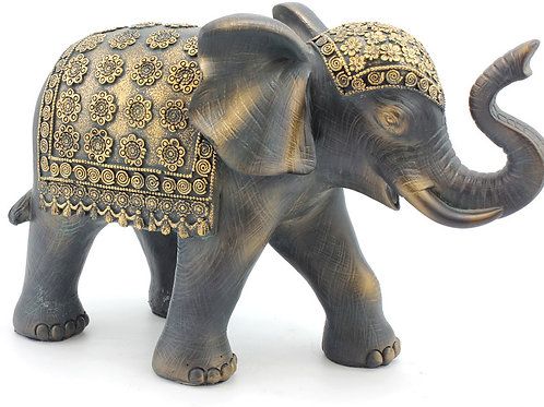 Exotic Art Black Elephant Shipping furniture UK