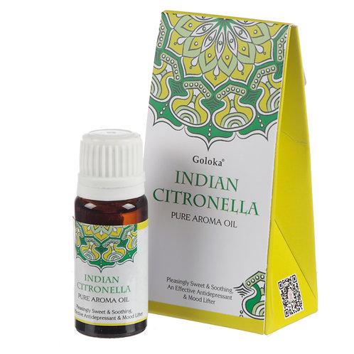 Goloka Fragrance Aroma Oils - Citronella Novelty Gift