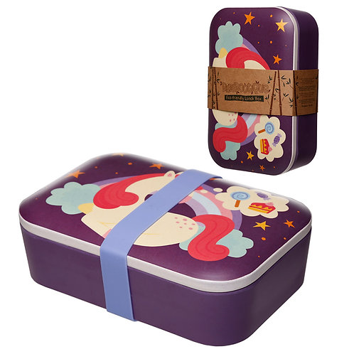 Bamboo Composite Sweet Dreams Unicorn Lunch Box Novelty Gift