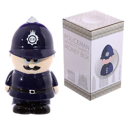 Novelty Ceramic Policeman Money Box Novelty Gift