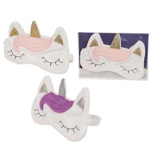 Novelty Gift Handy Eye Mask - Cute Unicorn Design