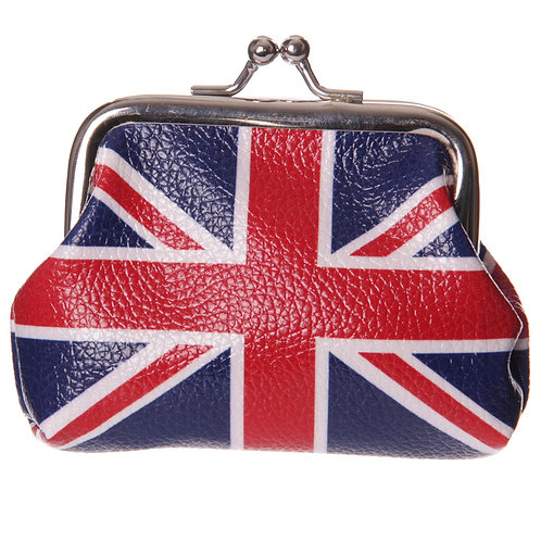 Fun Mini Coin Purse - Union Flag Design Novelty Gift