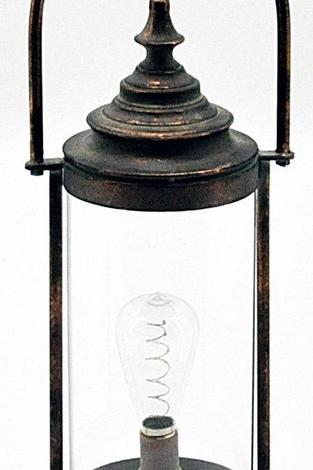 Antique Copper Garden Lantern 51.5cm Shipping furniture UK