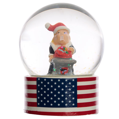 Collectable Chritmas The President Snow Globe Waterball Novelty Gift