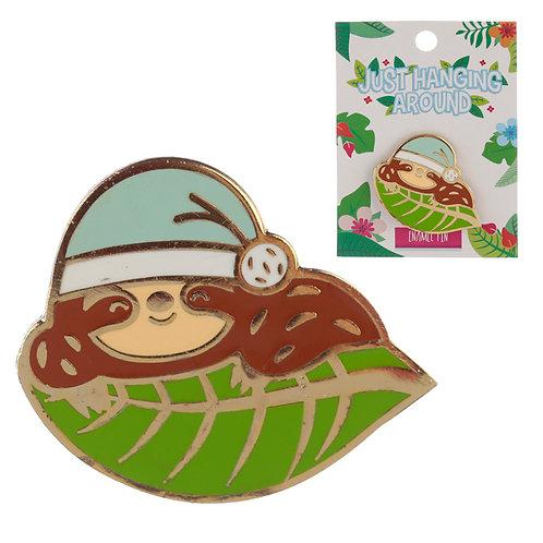Novelty Sloth Design Enamel Pin Badge Novelty Gift