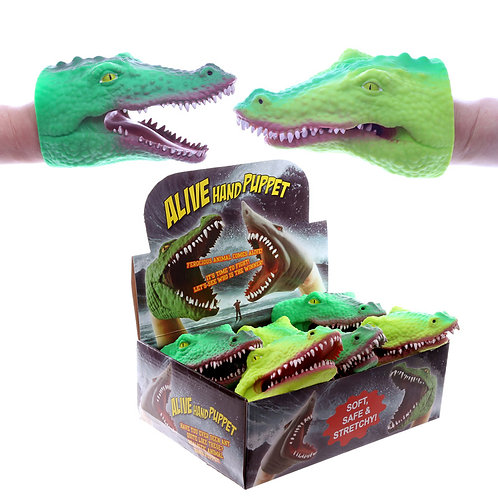 Fun Kids Puppet - Crocodile Head Novelty Gift
