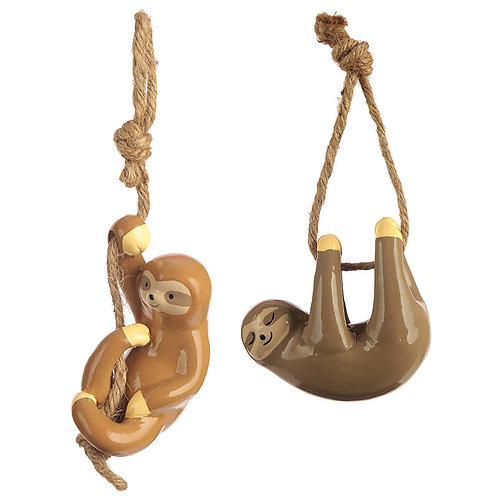 Novelty Gift Fun Collectable Hanging Sloth Decoration