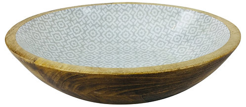 Wooden Decorative Bowl 25cm Shipping furniture UK
